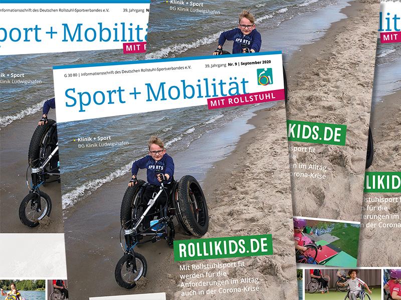 September-Magazin mit Schwerpunkt Rollikids