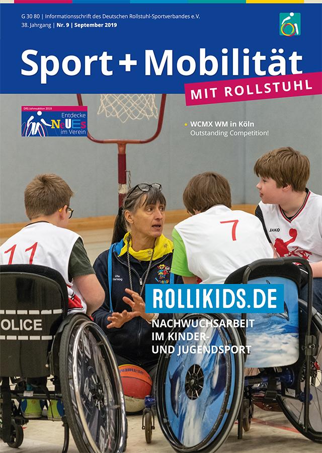 Titelseite des DRS-Magazins Schwerpunkt Kinder- und Jugendsport 09-19