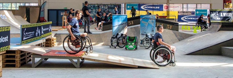 Wheelchair Skills Day in den Niederlanden | FJ van der Klooster