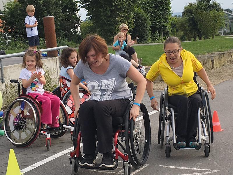 Mobilitäts- und Rollstuhltrainingsskurs