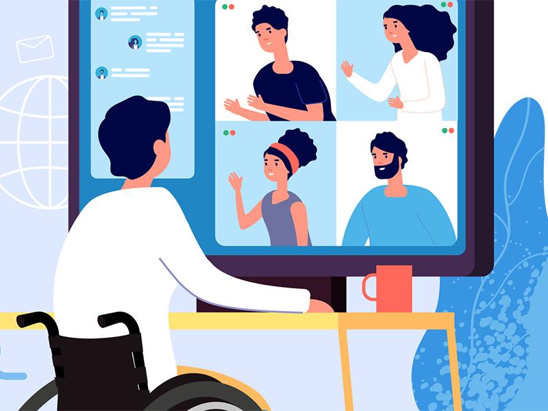 Virtuelle Sitzung | Adobe Stock