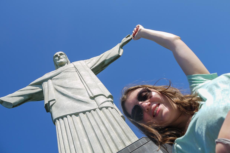 Mechtild Kreuser in Rio